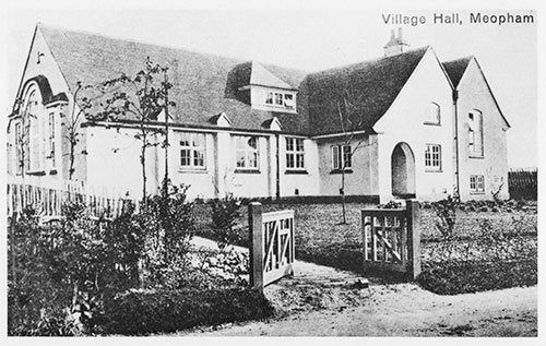The Village Hall, just after completion in 1912.